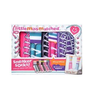 Little Miss Matched SNEAKER SOCKS GIFT SET